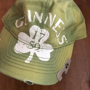 Guinness Snap Back Cap with Metal Bottle Opener